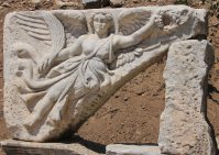 The original Nike, goddess of victory