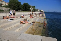 The sea organ. Pity you can't hear it.