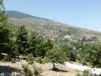 The hills surrounding Priene
