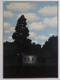 Magritte - this is the one I had a poster of.