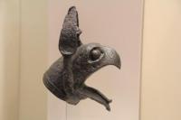 Griffon - originally part of a bronze cauldron.