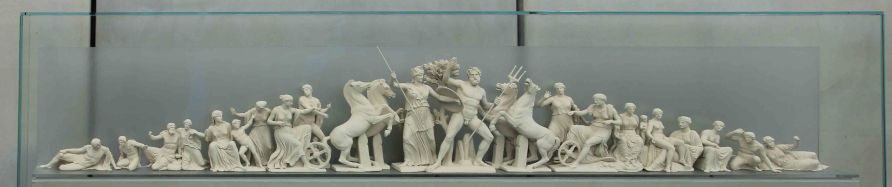 Model of what the Greeks want back from the British Museum.